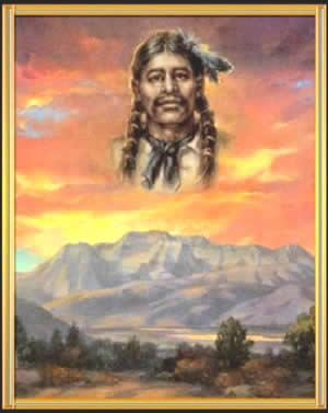 Timpanogos Chief Antonga Black Hawk. Author Phillip B Gottfredson's book - My Journey to Understand Black Hawk's Mission of Peace.