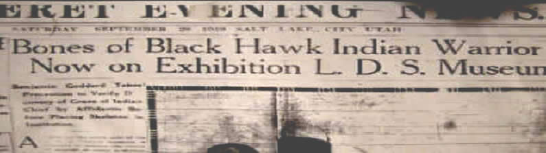 The Black Hawk War; Utah's Native American History