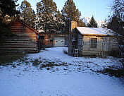 Cabins from Fort Utah Black Hawk Productions