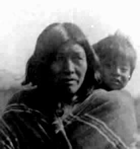 Ute Mother and Child Black Hawk Productions