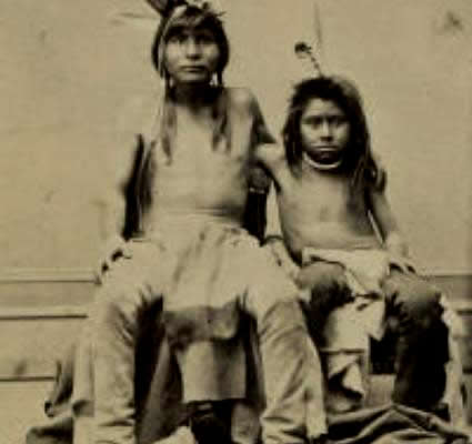 Ute Indian Children